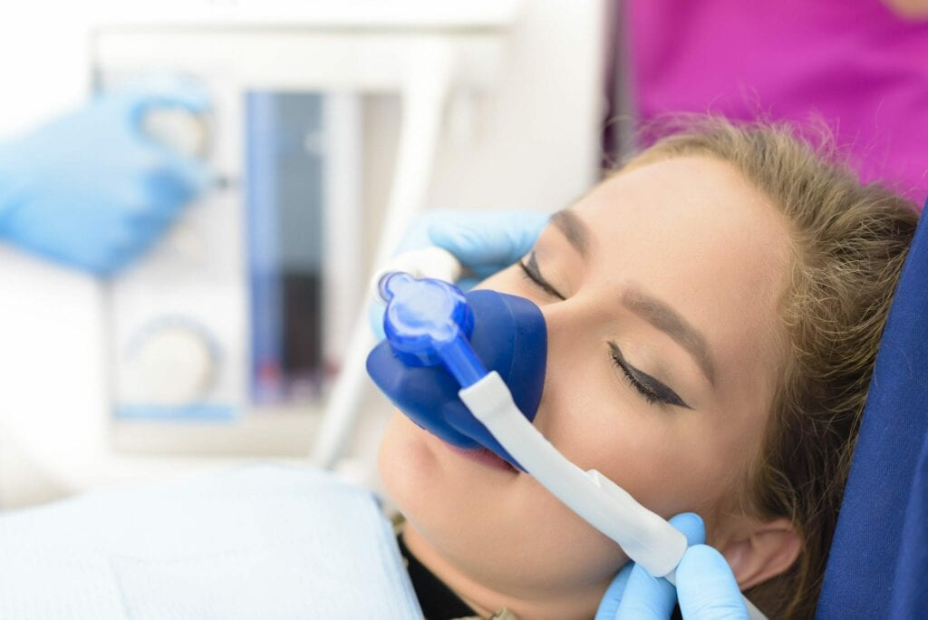 Inhalation Sedation at Clinic services idental group