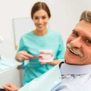 Professional dentist office dentures idental group